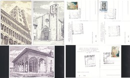 ITALIA 1977 - AREZZO:ARPHILEX.3 PEZZI N.v. - Manifestazioni
