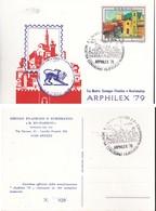 ITALIA 1979 - AREZZO:ARPHILEX.1 PEZZO N.v. - Manifestazioni