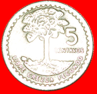 + BIRD (1971-1977): GUATEMALA ★ 5 CENTAVOS 1975! LOW START ★ NO RESERVE! - Guatemala