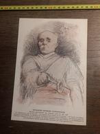 1906 JST DESSIN LEANDRE MONSIEUR GEORGES CLEMENCEAU - Alte Papiere