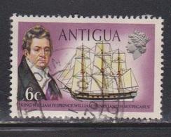 ANTIGUA Scott # 247 Used - King William IV & Ship Pegasus - 1960-1981 Ministerial Government