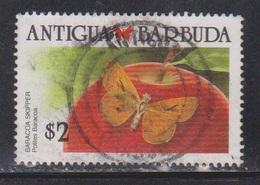 ANTIGUA & BARBUDA Scott # 1159 Used - Butterfly Baracoa Skipper - 1960-1981 Ministerial Government
