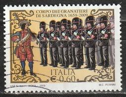 Italia 2009 - € 0,60 - Granatieri Di Sardegna - 6. 1946-.. Repubblica