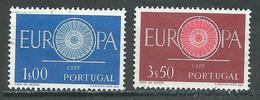 Portugal YT N°879/880 Europa 1960 Oblitéré ° - Europa-CEPT