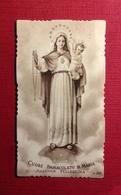 Santini, Holy Card- Cuore Immacolata Di Maria Ed. RLE N°283 - Religion & Esotérisme