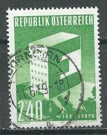 Autriche YT N°901 Europa 1959 Oblitéré ° - Europa-CEPT