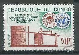 Congo YT N°159 Journée Météorologique Mondiale Oblitéré ° - Congo - Brazzaville