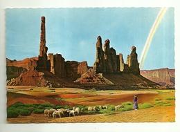 """4130 """"TENDING NAVAJO SHEEP MONUMENT VALLEY-ARIZONA"""" CARTOLINA POSTALE ORIGINALE NON SPEDITA - Altre Tematiche"""
