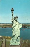 """4132 """"STATUE OF LIBERTY"""" CARTOLINA POSTALE ORIGINALE SPEDITA 1975 - Statua Della Libertà"""