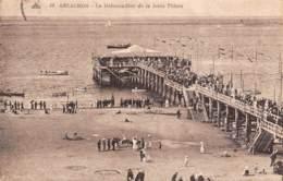 33 - ARCACHON - Le Débarcadère De La Jetée Thiers - Arcachon