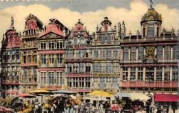 BRUXELLES - Grand'Place - Maisons Des Corporations - Places, Squares