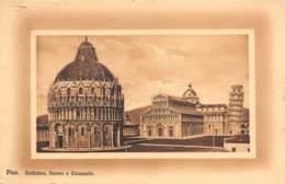 PISA - Battistero, Duomo E Campanile - Pisa