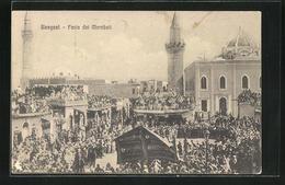 CPA Bengasi, Festa Dei Marabuti, Vue De Moscheen - Libia