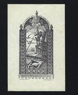 Original Ex Libris Do DR. EGAS MONIZ. Vintage Print DEVAMBEZ Bookplate NOBEL PRIZE Heraldry Armorial PORTUGAL - Ex-libris