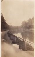BRUGGE. PHOTO LANDSCAPE LAKE CIRCA 1930's SIZE 8.5x14cm - BLEUP - Lugares