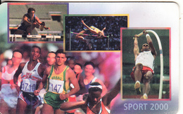 SOUTH AFRICA(chip) - Sport 2000(2), MTN Telecard, Chip SO3, Used - South Africa