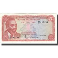 Billet, Kenya, 5 Shillings, 1978-07-01, KM:15, TTB+ - Kenia