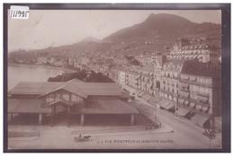 DISTRICT DE VEVEY - MONTREUX - LE MARCHE COUVERT - TB - VD Vaud
