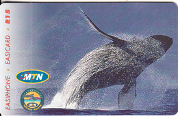 SOUTH AFRICA(chip) - Whale Route 2, MTN Telecard, Chip SO3, Tirage 50000, Used - South Africa