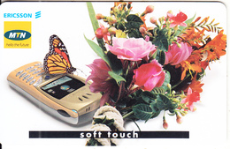 SOUTH AFRICA(chip) - Ericsson Mobiles/Soft Touch, MTN Telecard, Chip SC8, Used - Telefoni