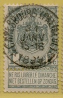 +MW-3682      *  CARLSBOURG (PALISEUL) *    OCB 53   Sterstempel    COBA    + 30 - 1893-1907 Armoiries