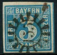BAYERN QUADRATE Nr 2II GMR 155 Zentrisch Gestempelt X87E0D6 - Bayern