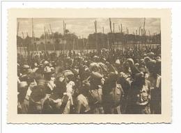 FOTO COLONIE - OVAZIONE DELLE CABILE SOMALE A ?  - BAIDOA LUGLIO 1950  -- - War, Military