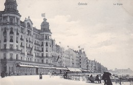 OSTENDE. LE DIGUE. VINTAGE PANORAMA. NELS. CPA CIRCA 1910's - BLEUP - Oostende