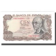 Billet, Espagne, 100 Pesetas, 1970-11-17, KM:152a, NEUF - [ 3] 1936-1975 : Regime Di Franco
