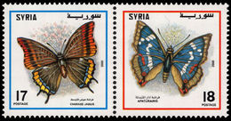 Syria 2000 Butterflies Unmounted Mint. - Syria