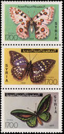 Syria 1994 Butterflies Unmounted Mint. - Syria