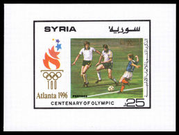 Syria 1996 Olympic Games Souvenir Sheet Unmounted Mint. - Syria