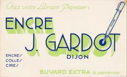 BUVARD Encre  J. Gardot à Dijon 21 - Papierwaren