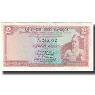 Billet, Ceylon, 2 Rupees, 1973-08-21, KM:72b, SUP - Sri Lanka