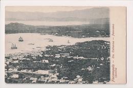 K-888 Florianopolis Saint Catherine Brazil Panorama Early Postcard - Otros