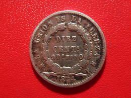 Bolivie - 10 Centimos 1874 2333 - Bolivie