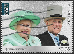 Australia 2017 Queen's Birthday $2.95 Sheet Stamp Good/fine Used [39/31908/ND] - 2010-... Elizabeth II