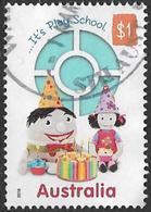 Australia 2016 50 Years Of Play School $1 Sheet Stamp Good/fine Used [37/31133/ND] - 2010-... Elizabeth II