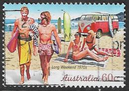 Australia 2010 Weekend Holidays 60c Sheet Stamp Type 3 Good/fine Used [40/32367/ND] - 2010-... Elizabeth II