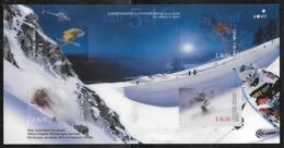 Finland - 2008 Alpine Skiing Sheetlet - Lenticular Printing MNH - Blocs-feuillets