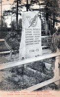 Col Du Bonhomme, Tombe élevée Avec L'ancienne Borne Frontière - France