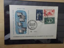Luxemburg Michel 552-54 FDC (9848) - FDC