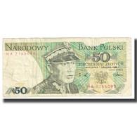 Billet, Pologne, 50 Zlotych, 1986, KM:142b, NEUF - Pologne