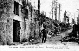 LE LINGE  Construction En Ciment Armé - France