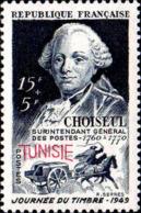 Tunisie Poste N** Yv:328 Mi:354 Journée Du Timbre Choiseul - Tunisie (1888-1955)