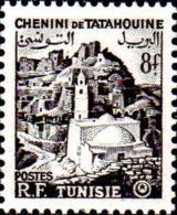 Tunisie Poste N** Yv:371 Mi:412 Chenini De Tatahouine - Tunisie (1888-1955)