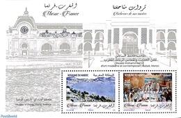 Morocco 2019 Joint Issue France S/s, (Mint NH), Joint Issues - Emissions Communes