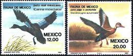 Mexico 1984 - Mi 1893/94 - YT 1041/42 ( Birds : Ducks ) MNH** - Messico