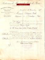 Document Du 28/11/1885 Sècheries De Morues De Port-de-Bouc 13 - St-Pierre-et-Miquelon (Terre-Neuve) - 1800 – 1899