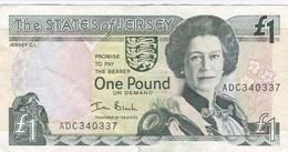Jersey - Billet De 1 Pound - Elizabeth II - Non Daté - [ 4] Isle Of Man / Channel Island